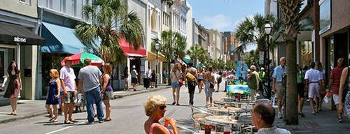 King Street is one of Charleston, SC #visitUS.