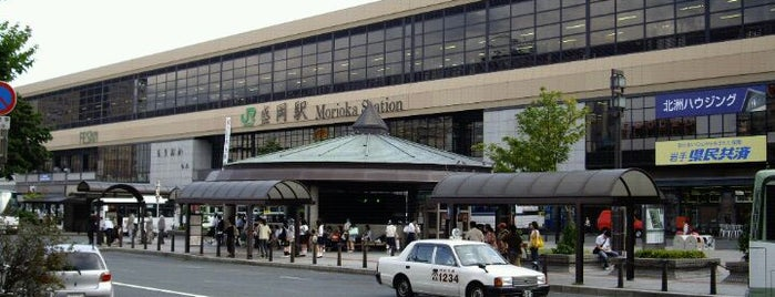 Morioka Station is one of 東北の駅百選.