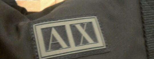 Armani Exchange is one of Tiendas en PLAZA.