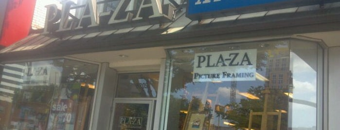 PLAZA Artist Materials & Picture Framing is one of District of Art.