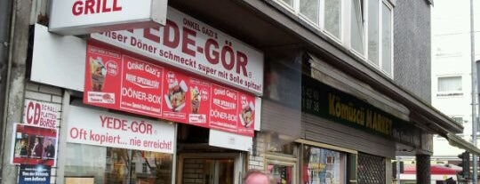 Yede Gör Döner is one of Türkisch Fast Food.