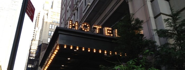 Ace Hotel New York is one of Rob's NYC Eats & Sleeps.