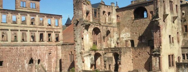 Heidelberger Schloss is one of Mannheim And More.