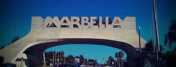 Marbella is one of Andalucia.
