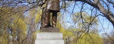 Charles Sumner Statue (Boston Public Garden) is one of IWalked Boston's Public Art (Self-guided Tour).
