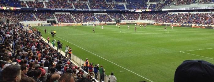 Red Bull Arena is one of การแข่งขันฟุตบอลนัดสำคัญ.
