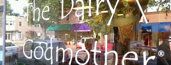 The Dairy Godmother is one of DC Area.