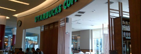 Starbucks is one of Trans Studio Mall Makassar.