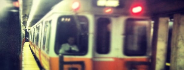 MBTA Haymarket Station is one of Boston MBTA Stations.