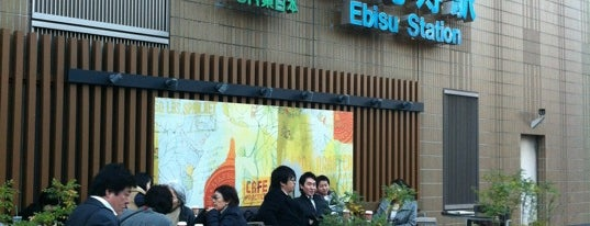 Starbucks Coffee アトレ恵比寿店(2F) is one of Starbucks Coffee (東京23区:千代田・中央・港以外).