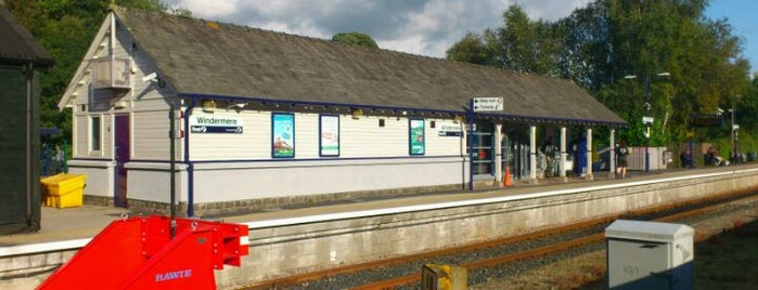 Windermere Railway Station (WDM) is one of Railway Stations in UK.