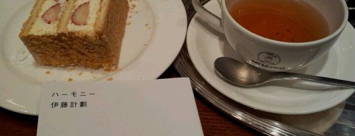 カフェ ラ ミル (Café LA MILLE) 都立大駅前店 is one of 東急沿線 Cafe・カフェ・喫茶店.