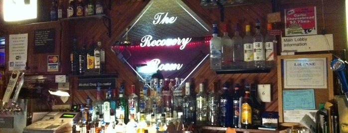 The Recovery Room Pub and Grill is one of Gigs.