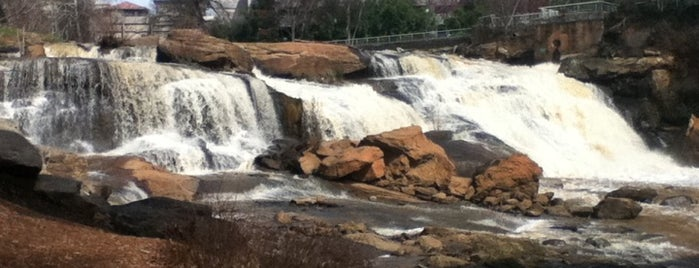Falls Park On The Reedy is one of Top 10 favorites places in Greenville, SC.