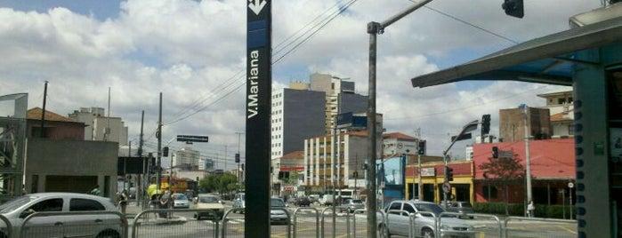 Estação Vila Mariana (Metrô) is one of Transporte.