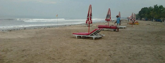 Pantai Kuta (Kuta Beach) is one of Beautiful Beaches in Bali.