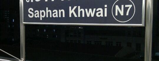 BTS Saphan Khwai (N7) is one of BTS Station - Sukhumvit Line.