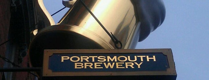Portsmouth Brewery is one of The Best Spots in Portsmouth, NH! #visitUS.