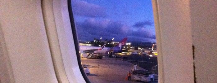 Honolulu International Airport (HNL) is one of Hawaii List.
