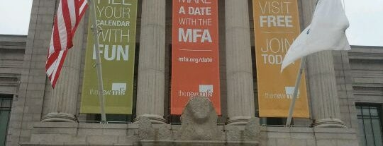 Museum of Fine Arts is one of Boston City Badge - Beantown.