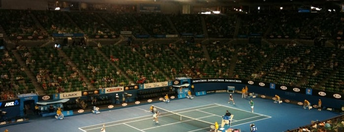 Rod Laver Arena is one of Quintessential Melbourne.