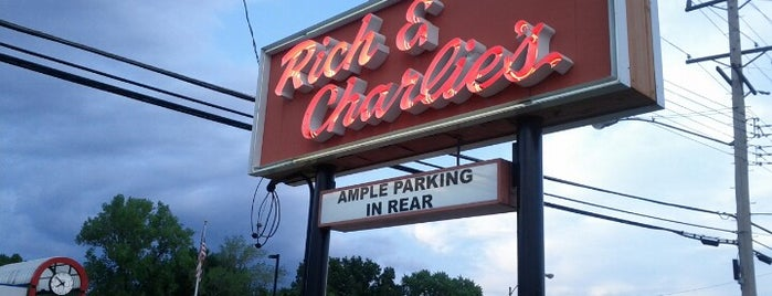 Rich & Charlie's Italian Restaurant is one of The best things we ate in 2012.