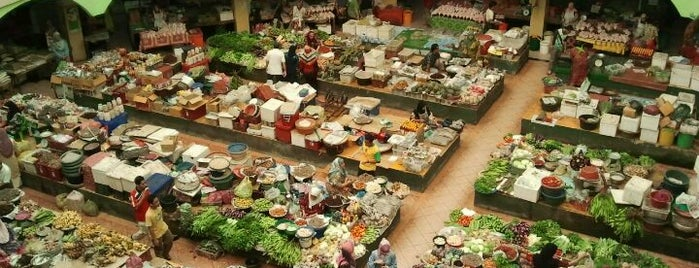 Pasar Besar Siti Khadijah is one of Top 10 favorites places in Kota Bharu, Malaysia.
