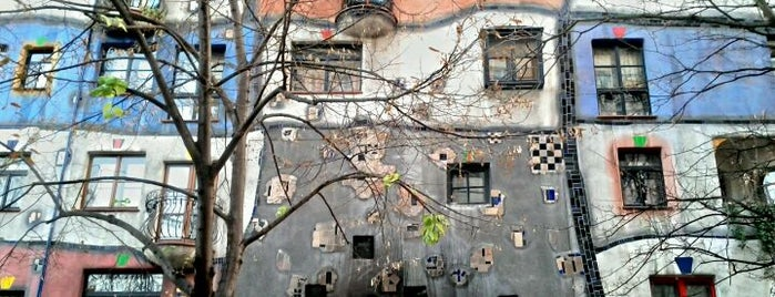 Hundertwasserhaus is one of Vienna City Badge - Blue Danube.