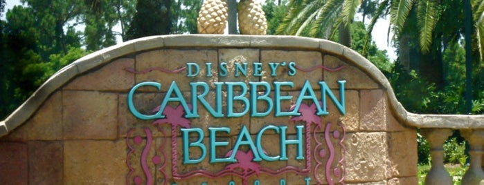 Disney's Caribbean Beach Resort is one of Playgrounds.