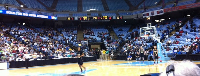 Dean E. Smith Center is one of Gary's List.