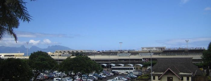 Tahiti-Faa'a International Airport (PPT) is one of Airports of the World.