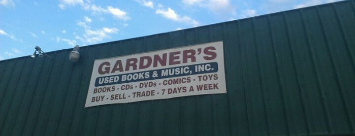 Gardner's Used Books and Music, Inc. is one of Livin' on Tulsa Time.