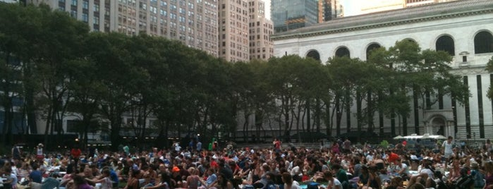 Bryant Park is one of When in New York....