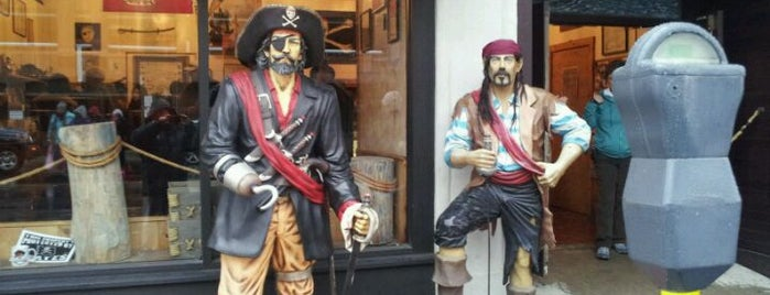New England Pirate Museum is one of Aquariums, Museums and Zoos in Boston.