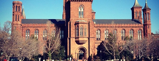 Smithsonian Institution Building (The Castle) is one of The Arts in DC.
