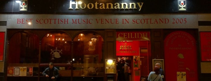 Hootananny is one of Must do in Inverness.