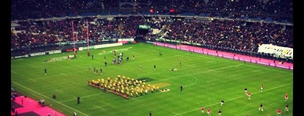 Stade de France is one of Paris City Badge - La Ville-Lumière.