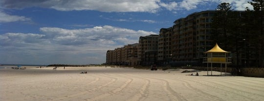 Glenelg Beach is one of Top 10 places to try this season.