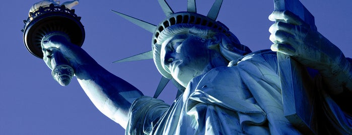 "Statue of Liberty is one of ""Be Robin Hood #121212 Concert"" @ New York!."