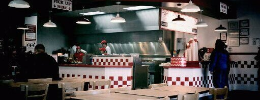 Five Guys is one of 20 favorite restaurants.