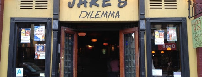 Jake's Dilemma is one of Spots to visit.