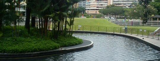 Kuala Lumpur City Centre (KLCC) Park is one of Cool KL.