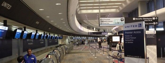 San Francisco International Airport (SFO) is one of Mis lugares más queridos !.