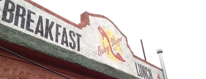The Ruby Slipper Café is one of Foodie!.