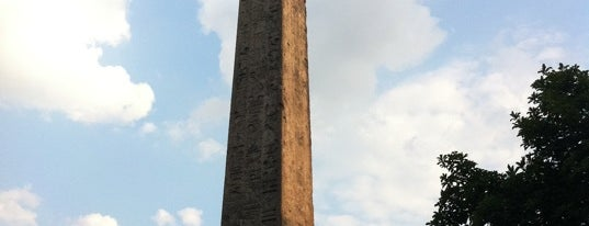 Cleopatra's Needle is one of NYC Stay-cation.