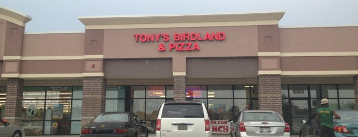 Tony's Birdland & Pizzeria is one of Rochester's Take on the Chicken Wing.