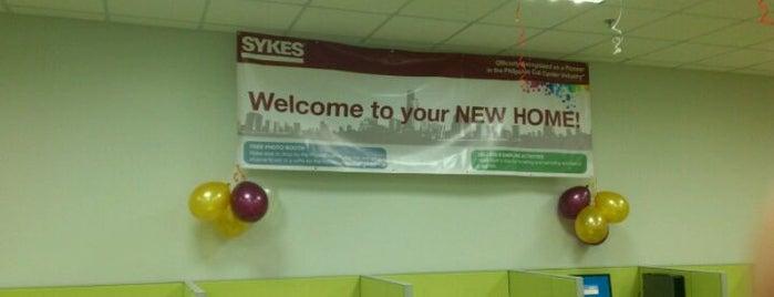 Sykes 4th Floor WCC is one of The (Metro) Manila BPO List.