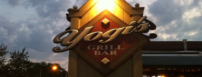 Yogi's Grill And Bar is one of B-town = Food Town!.