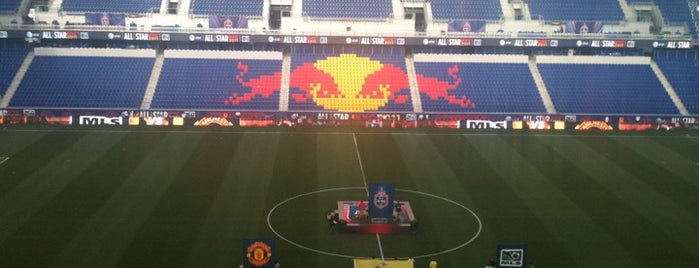 Red Bull Arena is one of MLS Stadiums.