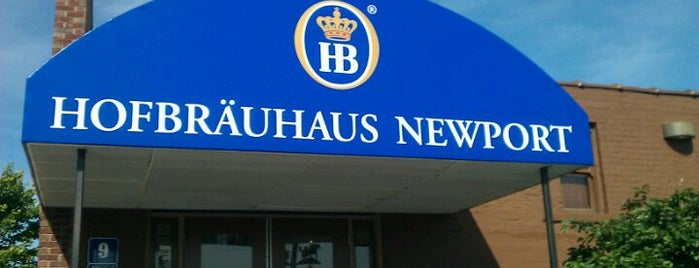 Hofbräuhaus Newport is one of Diners, drive-ins, and such.
